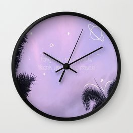 taken by my couch Wall Clock