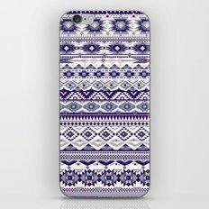 bleu iPhone & iPod Skin