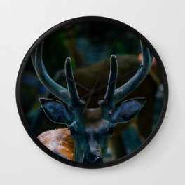The Buck (Color) Wall Clock
