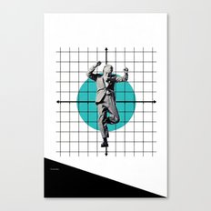 Out of the grid... Canvas Print