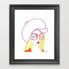 Hip Girl Framed Art Print