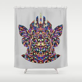 Dimensional Traveller Shower Curtain