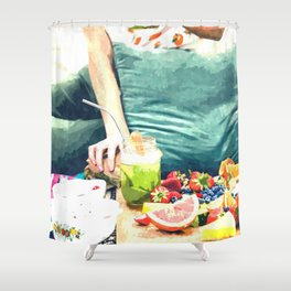 Picnic Day Shower Curtain
