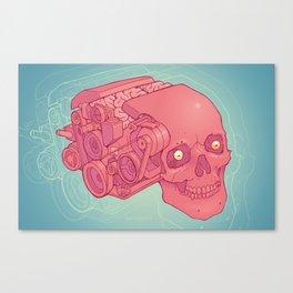 An Unquieted Mind Canvas Print