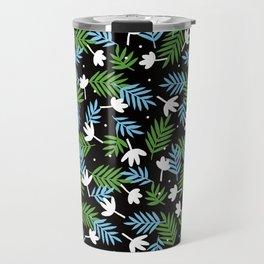 black, black Travel Mug