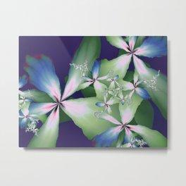 Flowers From The Digital Studio Metal Print