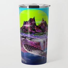 Turtle Paradise Travel Mug