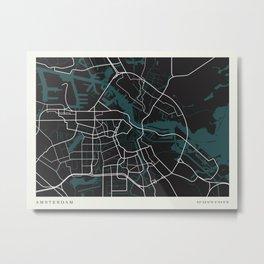 City of Amsterdam Metal Print