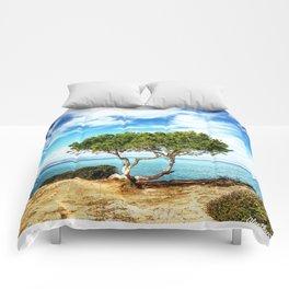 Tree in Focus Comforters