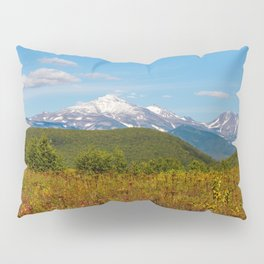 Fall and volcanoes Pillow Sham