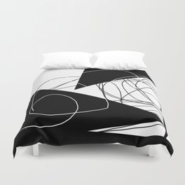When Gladys Goes to Town Duvet Cover