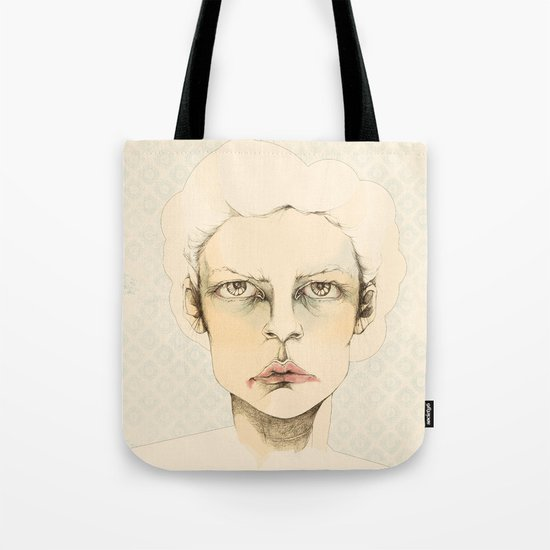 """portrait of anybody"" Tote Bag"