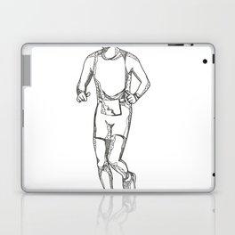 Marathon Running Doodle Art Laptop & iPad Skin