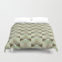 whisky Duvet Covers featuring Hipster Pattern  by Schwebewesen • Romina Lutz