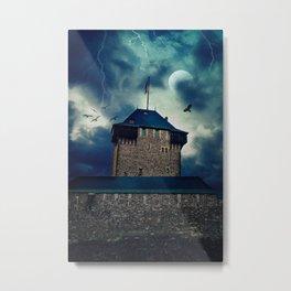 Castle Burg Metal Print