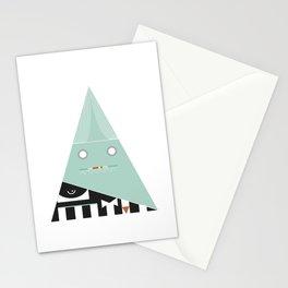 elegantes Dreieck Stationery Cards