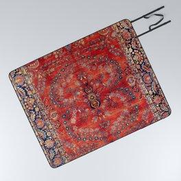 Sarouk Arak West Persian Carpet Print Picnic Blanket