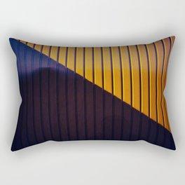 Dr. Purple & Mr. Orange Rectangular Pillow