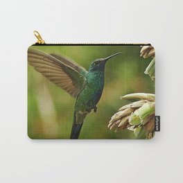 Emerald Glow Carry-All Pouch