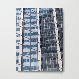 Rectilinear Metal Print