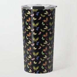 Pattern Buttefly Travel Mug