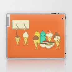 Ice Cream Hair Fun Laptop & iPad Skin