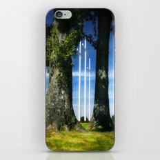 Through the Trees iPhone Skin