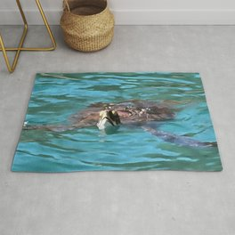Loggerhead Sea Turtle Rug