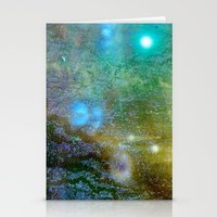 cosmic Stationery Cards featuring Cosmic by Jay Taylor