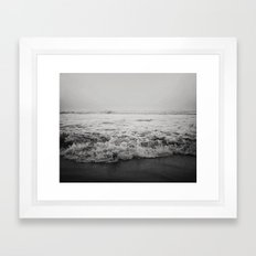 Ocean Crash Framed Art Print