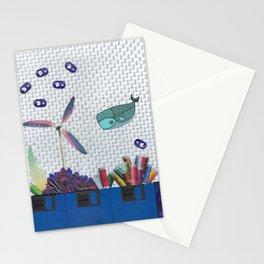 Skipping School Stationery Cards