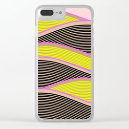 Happy Times - Sunny Fields Clear iPhone Case