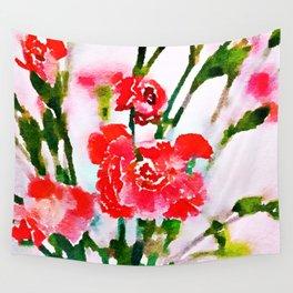 Red Blossom #society6artprint #decor #buyart Wall Tapestry
