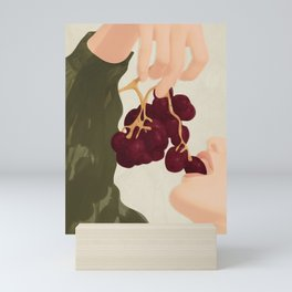 Hold me in the Present Mini Art Print