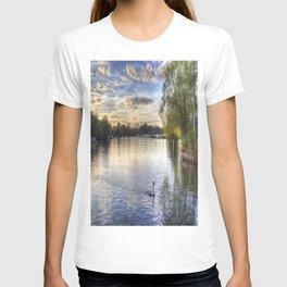River Thames  Sunset T-shirt