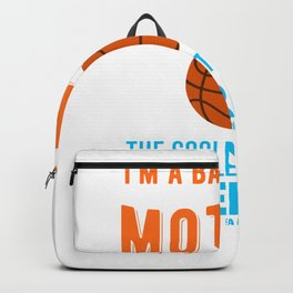 Cool Basketball mother Backpack