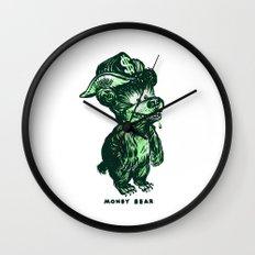 The Money Bear Wall Clock