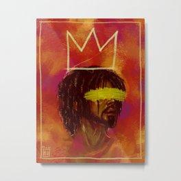Cole World x Basquiat Metal Print