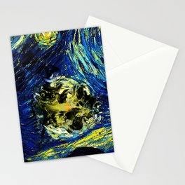 cheshire starry night   Stationery Cards