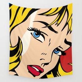 Ribbon Girl (1965) Wall Tapestry