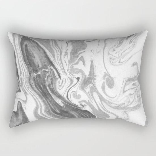 Suminagashi 03 Rectangular Pillow