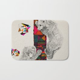 The Innocent Wilderness by Peter Striffolino and Kris Tate Bath Mat
