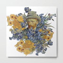 Van Gogh flowers Metal Print
