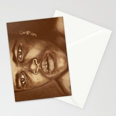 round 1...cassius clay Stationery Cards