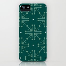 Merry & Bright Christmas Ornament iPhone Case