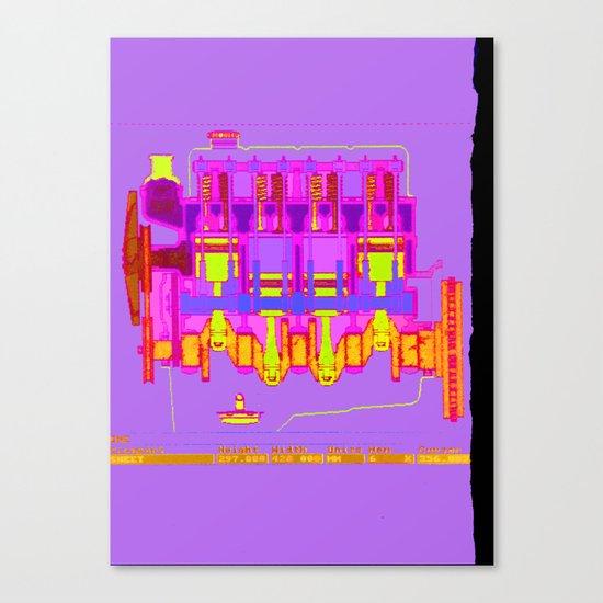 ICE 02 Canvas Print
