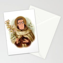 Saint Hank Hill Stationery Cards