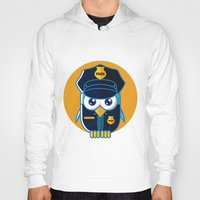 police Hoodies featuring Police Bird by ArievSoeharto