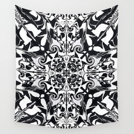 Ethereal Kaleidoscope   Wall Tapestry