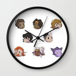 Mini Voltron Wall Clock